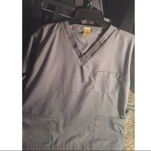 Scrubs top and bottom included